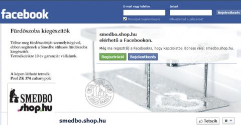 Smedbo.shop.hu a facebookon